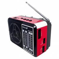 Маленький Радиоприёмник NK-203 (220V, аккумулятор, USB вход)