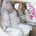 Хутряні накидки на передні сидіння PSV, овчина., фото 5