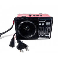 Маленький Радиоприёмник NK-204 (220V, аккумулятор)