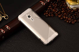 Чехол Nokia 230 силикон TPU S-LINE серый