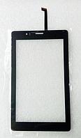 Тачскрин / сенсор (сенсорное стекло) Fly Flylife Connect 7 3G 2 (черный, C109188A1-DRFPC208T-V4.0, самоклейка)