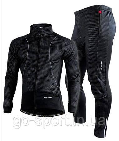 Велокостюм Nuckily Черный