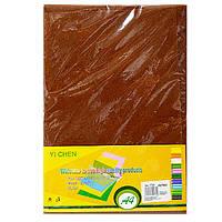Фетр коричневый для рукоделия и творчества