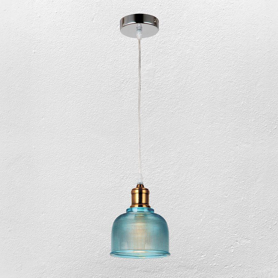 Люстра ( подвес) в стиле лофт (модель 20-81292 BLUE)