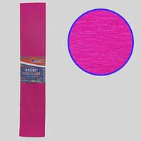 Креп-бумага 55%, малиновый 50*200см, 20г/м2