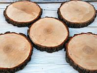 Набор деревянных срезов Ольха
