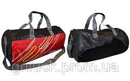 Спортивная мужская сумка дорожная через плечо