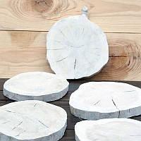 Набор деревянных срезов Дуб