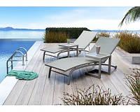 Шезлонг Севилла, лежак, мебель для бассейна, мебель для сауны, садовая мебель, пляжная мебель
