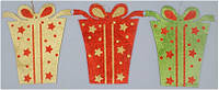 Новогодний декор Подарок 30 см