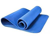 Гимнастический коврик синий