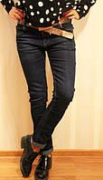 Женские джинсы высокая посадка полубатал, размеры от 29 до 36