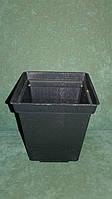 Стакан под рассаду квадратный 9x9x10 см (100 штук)