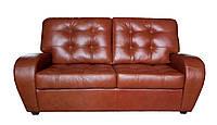 """Раскладной 2х местный кожаный диван """"Vincent"""" (Винцент). (166 см)"""