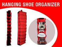 Подвесной органайзер для шкафа Hanging Shoe Organizer