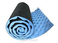 Коврик туристический каремат складной материал пенка синий