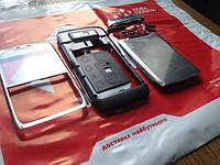 Корпус Nokia E71 стальной (серебристый) копия ААА