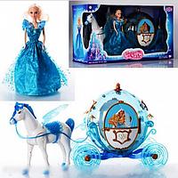 Карета 219A с лошадью и куклой HN