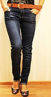 Женские классические джинсы полубатал, размеры от 30 до 38