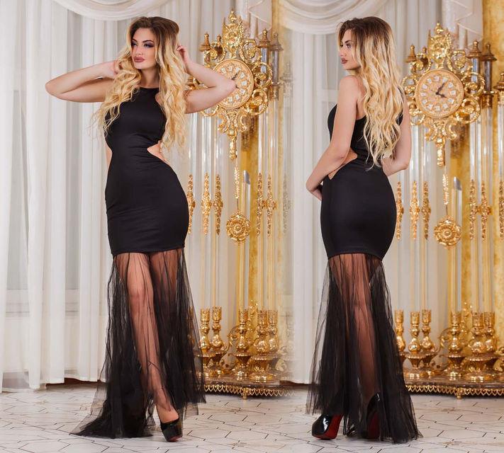 1b75ddd16dc1a28 Элегантное длинное вечернее женское платье (DG-ат3068): продажа ...