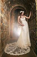 Шикарное свадебное дизайнерское платье (Наталия Стиран)