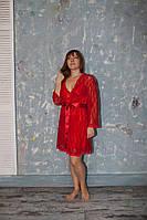 Пеньюар гипюровый Serenade 531 Красный