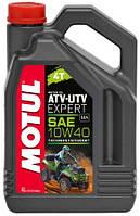 Моторное масло MOTUL 4T ATV-UTV Expert SAE 10W40 (4L)
