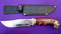 Охотничий нож Спутник Волк. Чехол в подарок