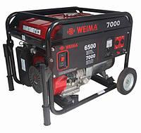 Генератор бензиновый WEIMA WM7000E (7 кВт) 1фаза, электрост.