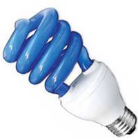Лампа энергосбер DELUX  ERS 02A 26W E 27 голубая