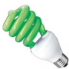 Лампа энергосбер DELUX  ERS 02A 26W E 27 зеленая