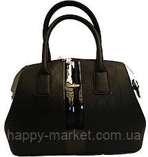 Сумка стильная Саквояж Боченок каркасная Fashion 17-1430-1, фото 2