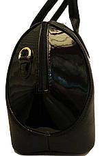 Сумка стильная Саквояж Боченок каркасная Fashion 17-1430-1, фото 3
