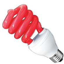 Лампа энергосбер DELUX  ERS 02A 26W E 27 красная