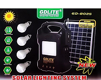Портативный фонарь с солнечной зарядкой GD LITE GD 8025 Solar Board