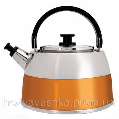Чайник со свистком Berghoff Virgo оранжевый 2,5 л 2304168
