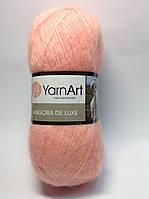 Пряжа angora de luxe - цвет лосось