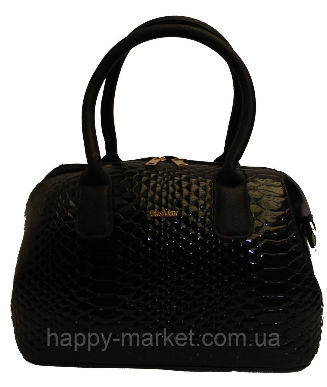 Сумка стильная Саквояж Боченок каркасная Fashion 17-1430-4