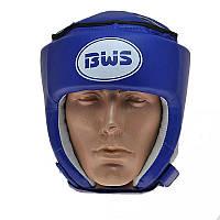 Защитный тренировочный шлем для любительского бокса синий