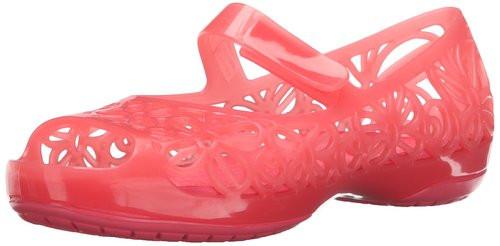 Кроксы crocs Isabella Jelly Flat
