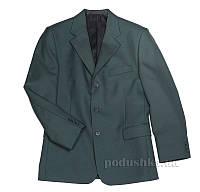 Пиджак для подростка Юность 766 зеленый 44 (Р-164, ОГ-92, ОТ-81)