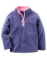 Яркий детский свитер  для девочки  на молнии +новая коллекция