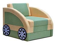 Детский диван Смарт мех., еврокнижка ткань Астра салат 8351, Астра желтый 196