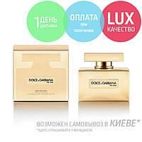Dolce & Gabbana D&G The One Gold Limited Edition. Eau De Parfum 75ml / Парфюмированная вода Дольче Габана 75 мл