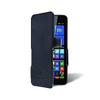 Чехол книжка Stenk Prime для Microsoft Lumia 535 DS Чёрный Гладкий