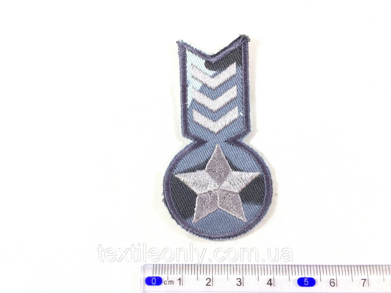 Нашивка. медаль