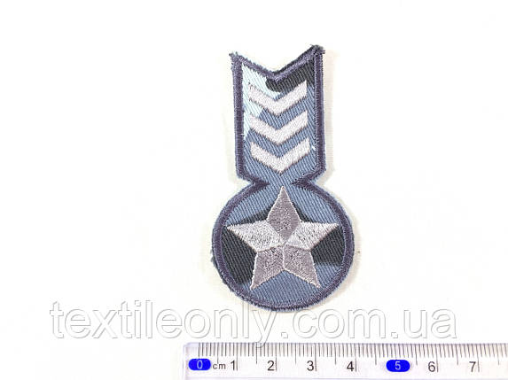 Нашивка. медаль, фото 2