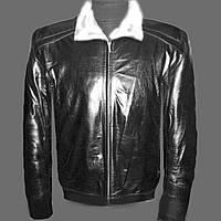 Куртка кожанная с мехом (овчина)