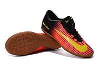Футзалки (бампы) Nike Mercurial Victory VI IC Total Crimson/Volt/Pink Blast, фото 1