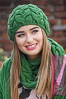 Шапка+шарф №144